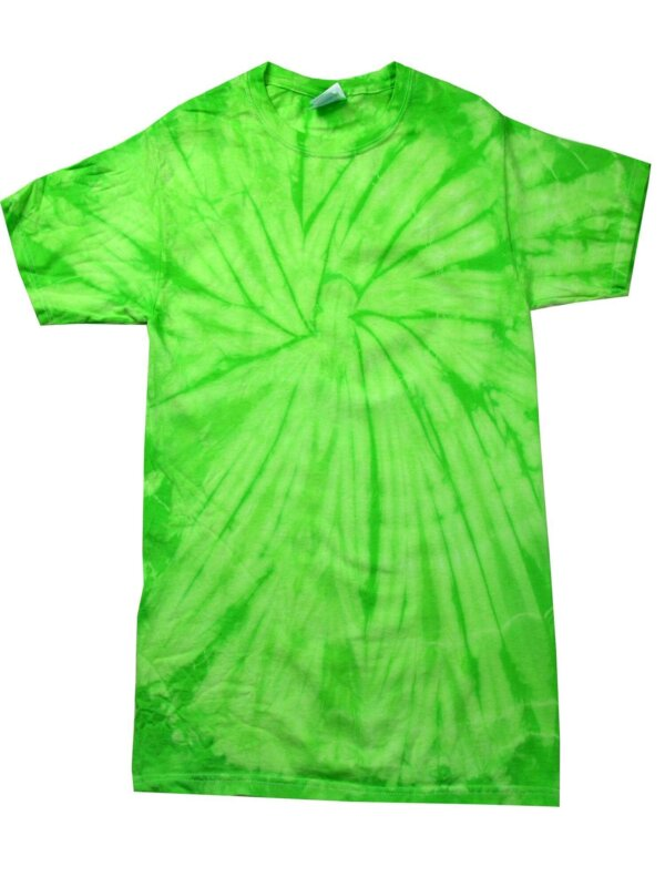 Lime Tie-Dye Toddler Tees