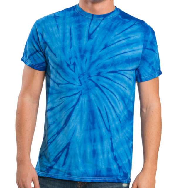 Multicolors Spider Tie Dye T-shirts