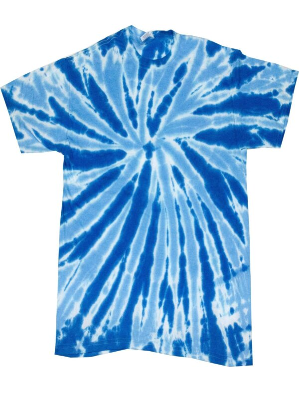 Blue Twist Tie-Dye T-Shirts