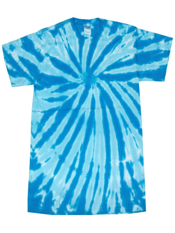 Turquoise Twist Tie-Dye T-Shirts