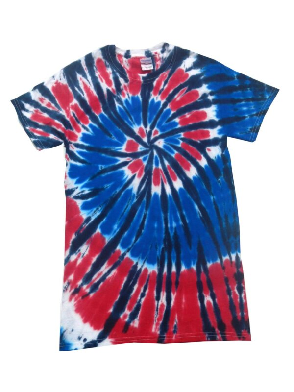 Independence Day Tie-Dye T-Shirts