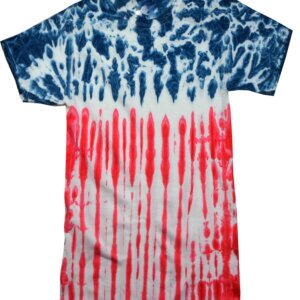 US Flag Tie-Dye T-Shirts