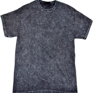Black Mineral Wash T-Shirts