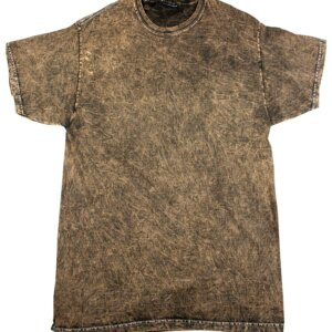 Brown Mineral Wash T-Shirts
