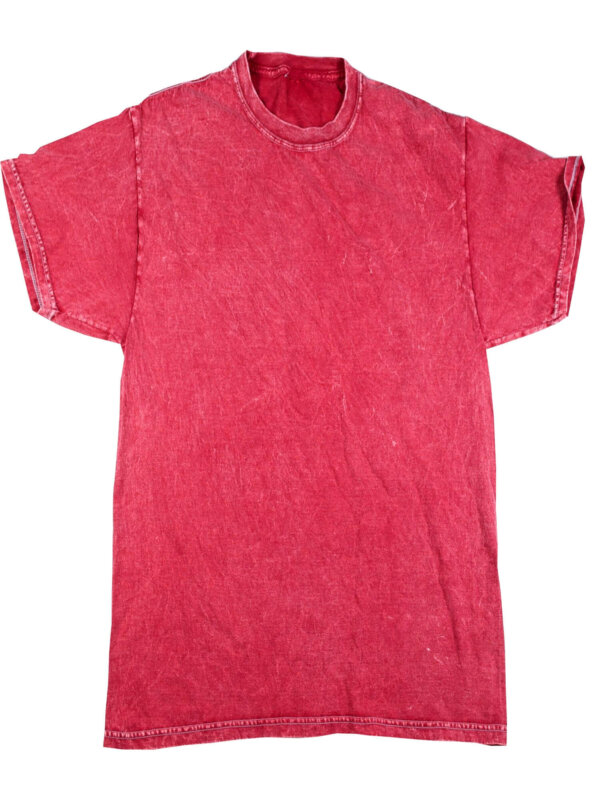 Red Mineral Wash T-Shirts