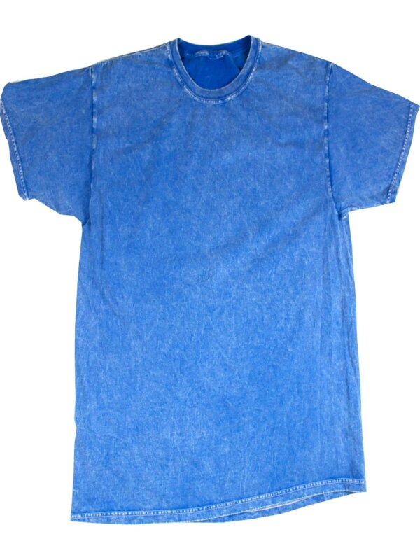 Royal Blue Mineral Wash T-Shirts
