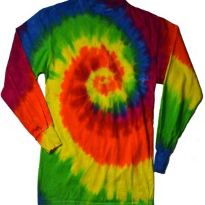 Moon Dance Tie-Dye Long Sleeve Shirts