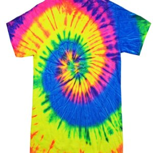 Neon Rainbow Tie-Dye Toddler Tees