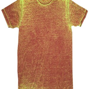 Rusty Red Acid Wash T-Shirts