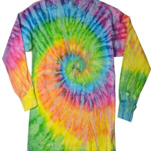Saturn Tie Dye Long Sleeve Shirts