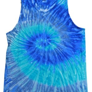 Jerry Blue Tie-Dye Tank Tops