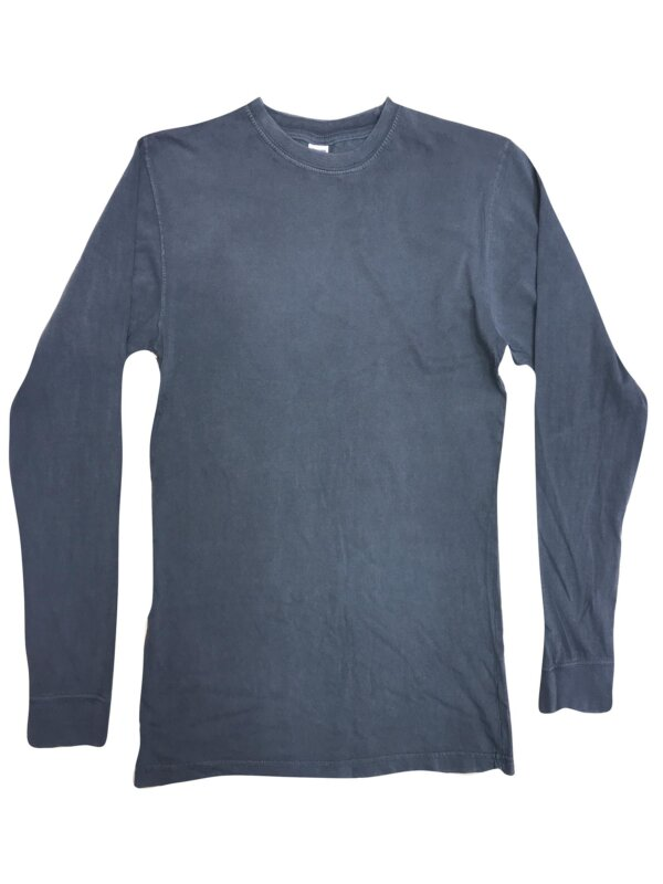 Collegiate Denim Long Sleeve Shirts