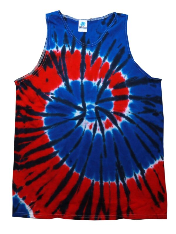 Independence Tie-Dye Tank Tops