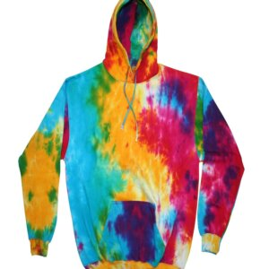Multicolor Mix Tie-Dye Hoodies Kids