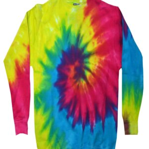 Reactive Tie-Dye Crew Neck Sweatshirt