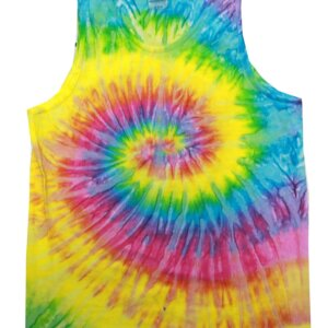 Saturn Tie-Dye Tank Tops Adult
