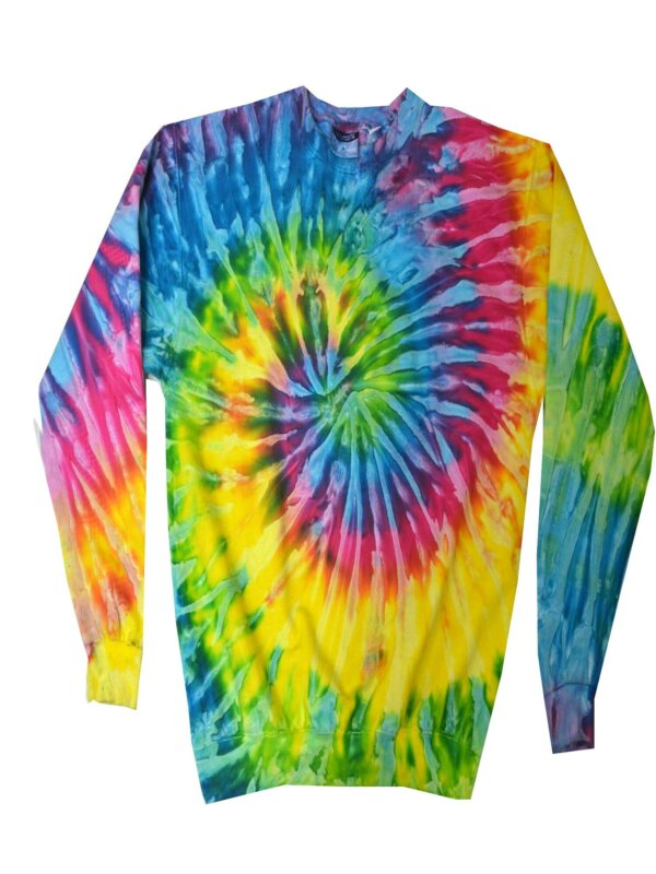 Saturn Tie-Dye Crew Neck Sweatshirt