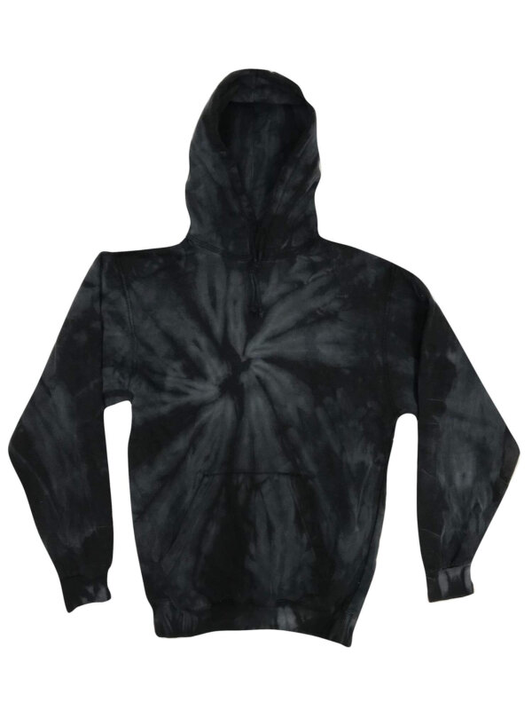 Spider Black Tie-Dye Hoodies