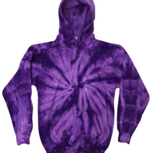 Purple Tie-Dye Hoodies