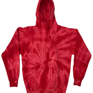 Spider Red Tie-Dye Hoodies