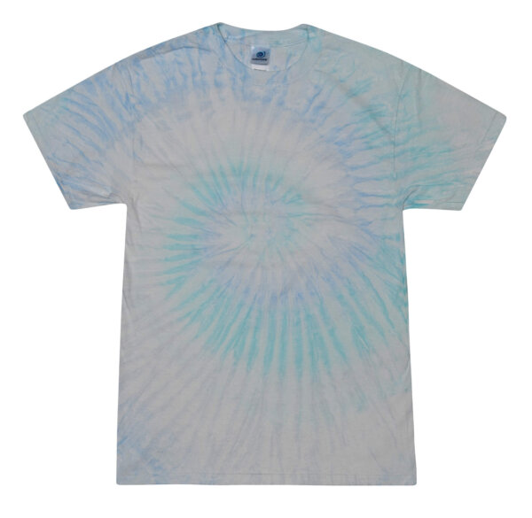 Blue Tie Dye Shirts Adult
